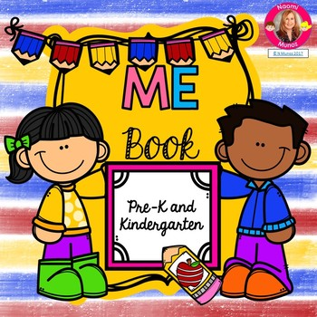 Back to School ME Book {Pre-K and K}