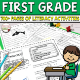 First Grade Reading Passages and More MEGA BUNDLE