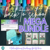 Back to School MEGA BUNDLE - All Back to School Activities for 6-12