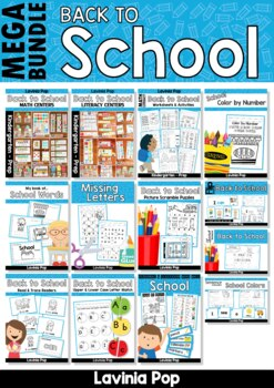 Back to School MEGA BUNDLE SAMPLER