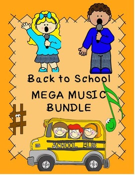 Back to School MEGA MUSIC BUNDLE