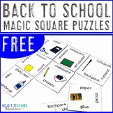 FREE Back to School in January Game, Centers, Review, or F