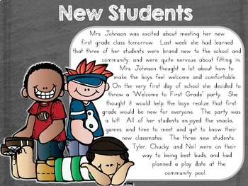 Back to School Main Idea Practice Pack {Fiction & Nonfiction Passages}