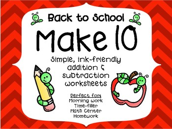Back-to-School Make 10