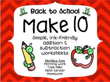 Back-to-School Make 10