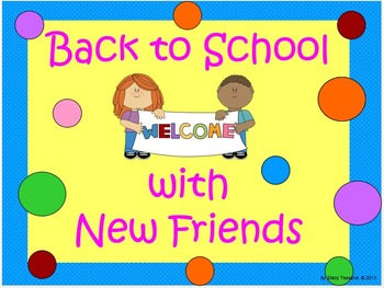 Back to School Make New Friends