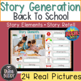 Back to School Make Your Own Stories Story Generation and