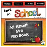 Back to School Activities: Welcome Back to School Flip Book {All About Me}