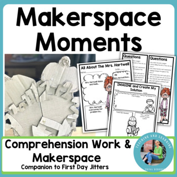 Back-to-School Makerspace {First Day Jitters}