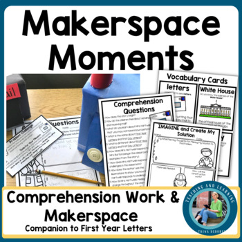 Back-to-School Makerspace {First Year Letters} For Distance Learning