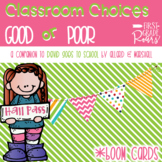 Back to School Making Good Choices Boom Cards