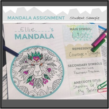 Writing Assignment for Anecdotal Writing and a Mandala