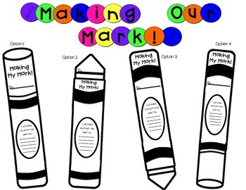 Back to School Marker Craft