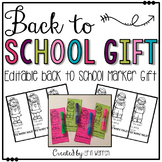 Back to School Marker Gift for Students