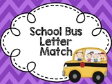Back to School Matching Letters
