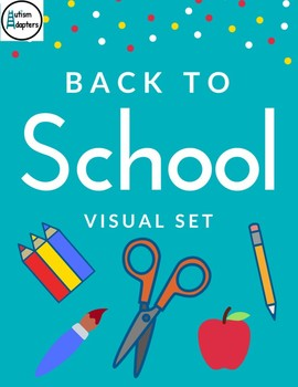 Back to School Matching and Sorting Visual Set
