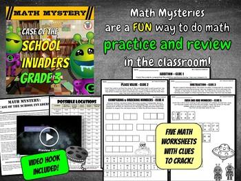 Back to School Math Activity {3rd Grade} -(2nd Grade Math Review)