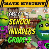 3rd Grade Beginning of the Year, Back to School Math Mystery -2nd Grade Review