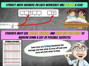 Back to School Math Activity {6th Grade} -(5th Grade Math Review)