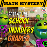 2nd Grade Beginning of the Year, Back to School Math Mystery Activity Worksheets