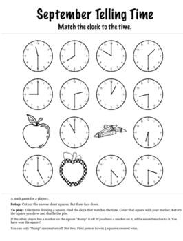 Back to School Math 1st Grade+ Bump Games Bundle
