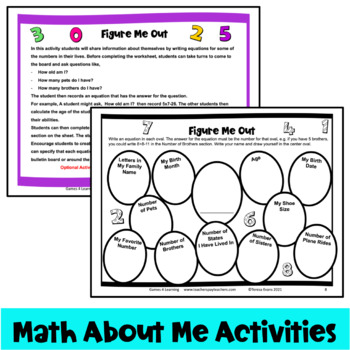 FREE Read & Find activity – great for the first day of school or ...