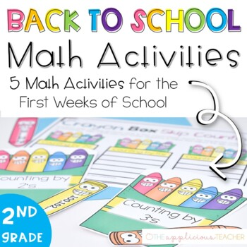 Back to School Math Activities for 2nd and 3rd Grade