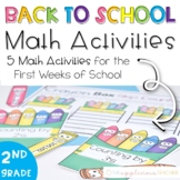Back to School Math Activities for 2nd Grade