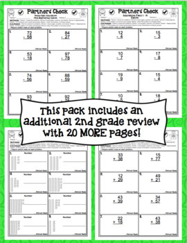 Back to School Math Activities - 3rd Grade Print and Go!