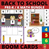 Back to School Math BOOM Bundle