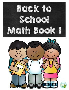 Back to School Math Book 1