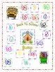 Back to School Math Bump Center Game  (Adding 3 numbers)