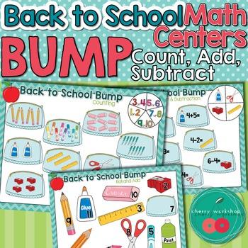 Back to School Math Center
