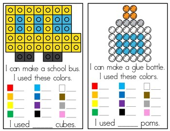 Back to School Math Centers