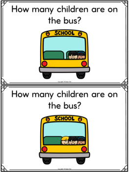 September/Back to School Math Centers-Counting with Numbers 0-10