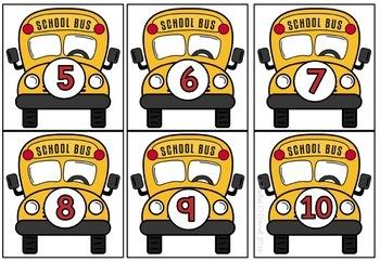 Back to School Math Centers First Grade Freebie