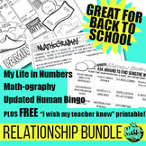 End of Year Math Classroom activities - Relationship Bundl