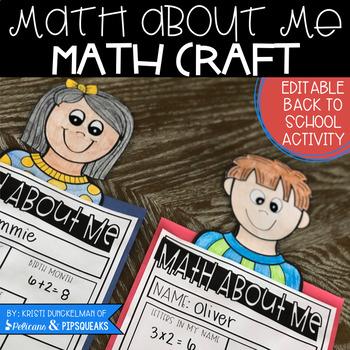 Back to School Math Craft