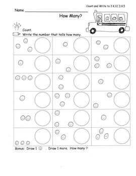 School Back to School Math ELA MEGA PACK for Kinder 30 Pages COMMON CORE