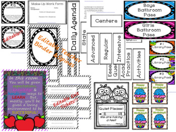 Back to School Math Essentials Bundle