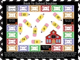 Back to School Math Facts Game (Doubles and Doubles Plus 1)