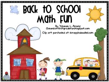 Back to School Math Fun