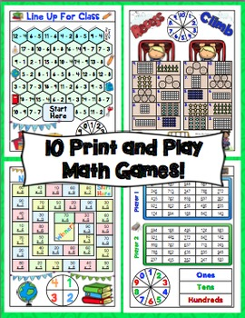 Back to School Math Games - 3rd Grade