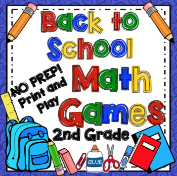 Back to School Math Games - 2nd Grade