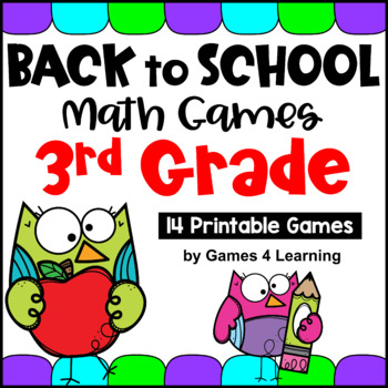 graphic regarding Printable Math Games 3rd Grade titled Back again towards University Math Online games 3rd Quality for Commencing of the