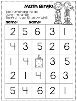 Back to School Math Games for the Primary Student!