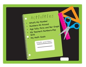 Back to School Math-Getting to know you activities
