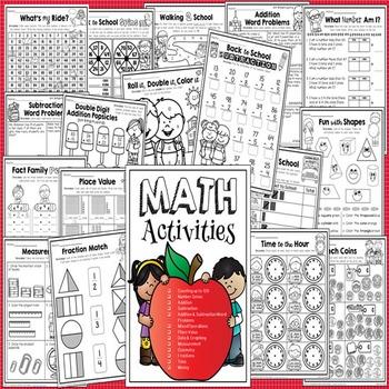 Back to School Math {Grade 2}