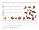 Back to School Math Graphing Worksheet