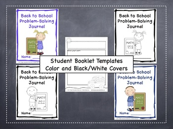 Back to School Math Problems: 25 Tiered Problem Solving Prompts